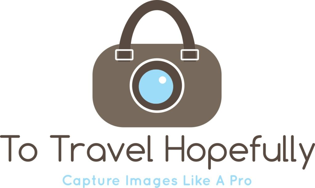 To Travel Hopefully logo capture images like a pro camera suitcase vintage