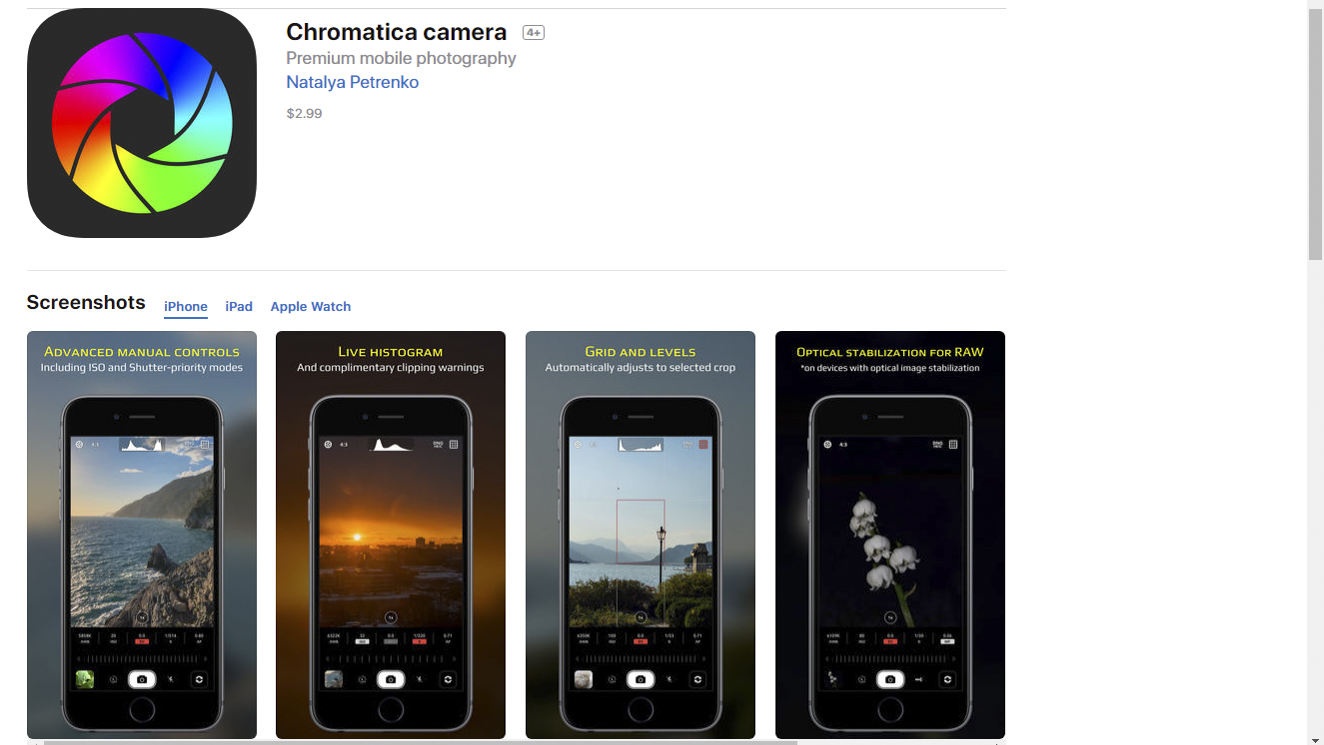 LR chromatica screenshot-